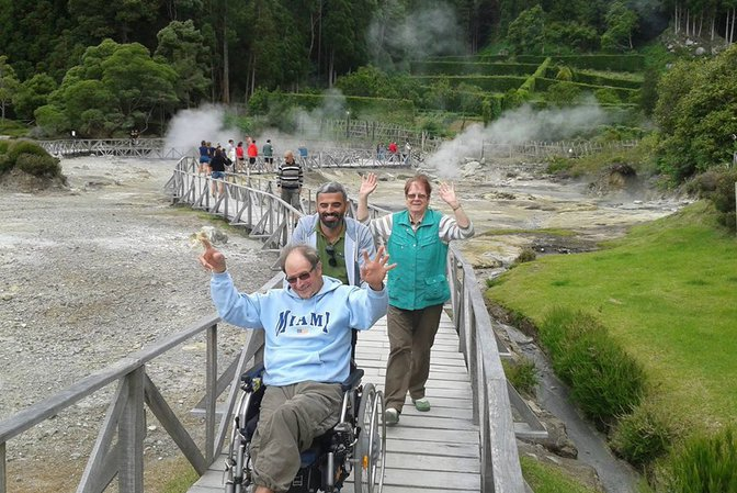 Adapted Van Tours - Full day Furnas / Fogo Lake